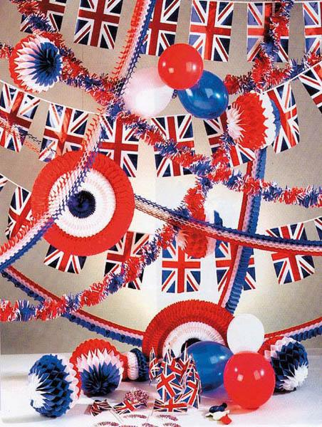 Kit d corations angleterre d coration animation pas cher for Decoration theme angleterre