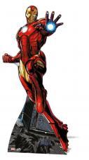 figurine geante iron man
