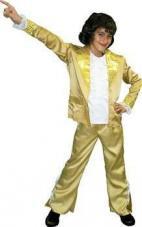 deguisement disco or pour garçon