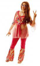 deguisement femme hippie fleur