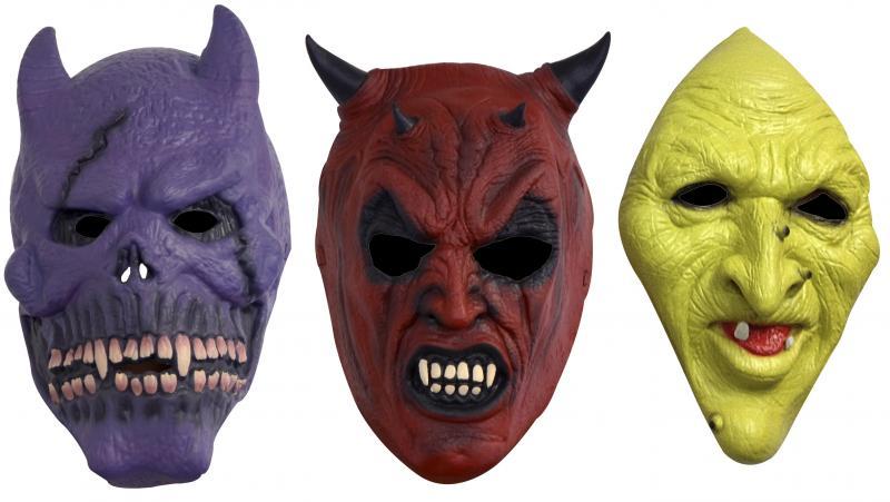 masque 1 face halloween pas cher. Black Bedroom Furniture Sets. Home Design Ideas