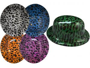 chapeau melon leopard