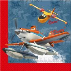serviettes planes 2