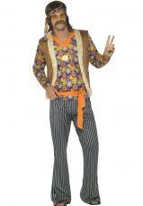 costume hippie homme annee 60