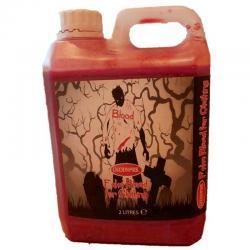 Faux Sang Textile Halloween pas cher