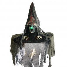 chapeau sorciere tete de mort
