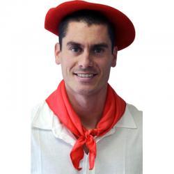 Foulard Basque rouge pour féria