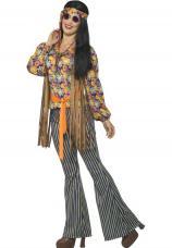 costume hippie femme annee 60