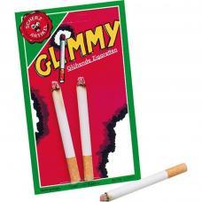 Lot de 2 cigarettes allumées