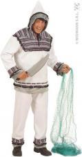 deguisement esquimau flanelle pour homme