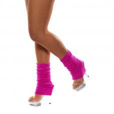 chaussettes danse fuchsia fluo