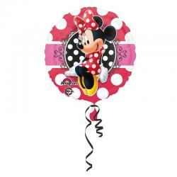 Ballon Minnie Mouse rond pas cher