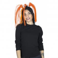 dreadlocks neon orange