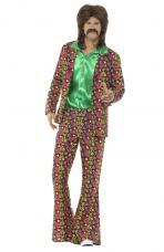 costume hippie psychedelique annee 60