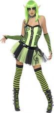costume femme elfe halloween