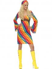 robe hippie arc en ciel