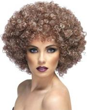perruque afro chatain naturelle