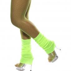 chaussettes danse vert fluo
