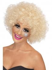 perruque afro funky blonde