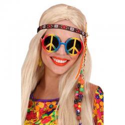 Lunettes hippie pas cher multicolore