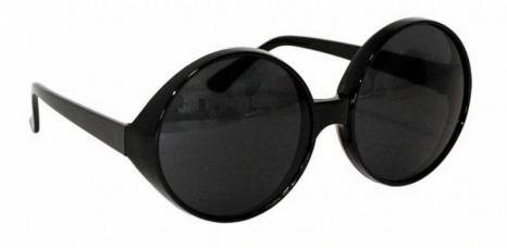 lunettes glamour black
