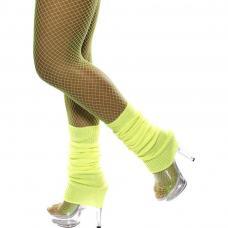 chaussettes danse jaune fluo