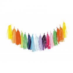 Guirlande multicolore pas cher : Guirlande Tassel