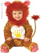 deguisement bebe lion