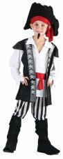 costume pirate garçon luxe