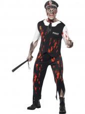 deguisement zombie policeman
