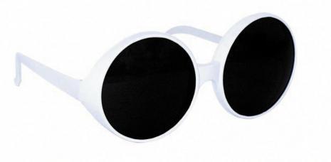 lunettes glamour white