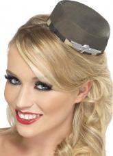mini chapeau militaire femme