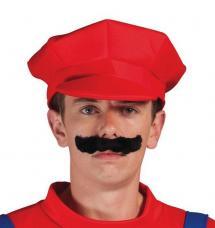 casquette de plombier rouge
