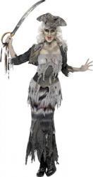 Déguisement Zombie Pirate Femme pas cher