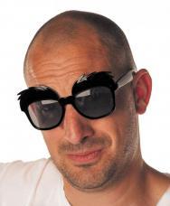 lunettes mega sourcils noirs