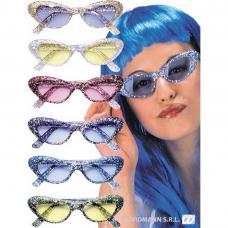 lunettes pailletees cat s