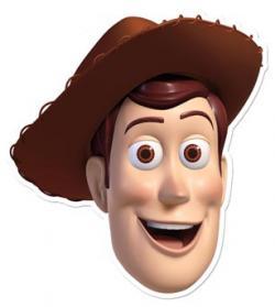 Masque Woody En Carton