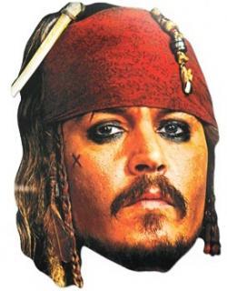 Masque Jack Sparrow