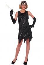 Costume Années 20 à Franges et Sequin