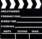 Décoration Clap de cinéma