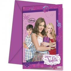 Cartes Invitation + Enveloppe Violetta