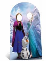 Passe Tête La Reine des Neiges pour Adulte