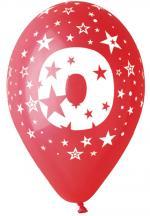 Ballons Chiffre 0 Latex
