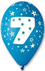 Ballons Chiffre 7 Latex