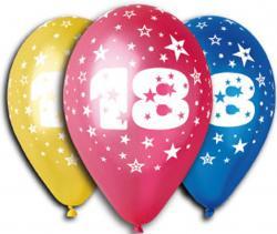 Ballons 18 ans Latex