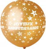 Ballon Géant Joyeux Anniversaire Or