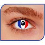 Lentilles drapeau Français