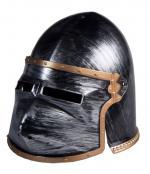 Casque de chevalier adulte avec visière