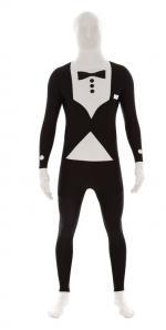 Seconde Peau Costume Noir et Blanc