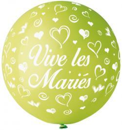 Ballon Géant Vert Anis